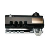 UV-licht Tandenborstel Sterilisator Tandenborstelreiniger Wandgemonteerde automatische tandpasta-dispenser + magnetische zuignap
