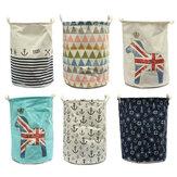 Cesto de roupa suja Bolsa Coleção de bolsas de armazenamento de roupas para cesta de lavagem