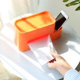 ZHIZAO Weefseldoos Container Geïntegreerde multifunctionele opbergrek Paper Holder van Xiaomi Youpin