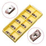 Drillpro 10pcs APMT1135PDER-M2 VP15TF Milling Carbide Insert For BAP300R Turning Tool