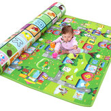 1.2/1.5/2x1.8m Waterproof Non-slip Baby Kids Floor Play Mat Children Game Blanket Crawling Carpet Cushion Pad