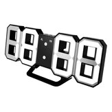 Digoo DC-K3 Multi-Function Large 3D LED Digital Wall Clock Alarm Clock With Snooze Function
