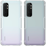 NILLKIN for Xiaomi Mi Note 10 Lite Case Bumpers Natural Clear Transparent Shockproof Soft TPU Protective Case Back Cover Non-original