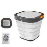 MOYU 220V Travel Portable Mini Folding Wash Machine Automatic Washing Bucket Small Household Underwear Clothes Washer Dryer Laundry for Business Self-Driving Tour from Eco-system