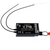 Récepteur V710 2.4G 7CH pour drone RC Spektrum Storm G152 DSMX DSM2 FPV Racing Multi Rotor