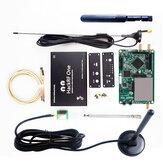 HackRF One 1MHz-6GHz Placa de desenvolvimento de plataforma de rádio RTL definido por software SDR Demoboard Kit receptor dongle rádio amador