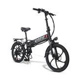 LAOTIE PX5 48V 10.4Ah 350W 20in Bicicleta eléctrica plegable 35 km / h Velocidad máxima 80 km Kilometraje E-Bike Enchufe de la UE