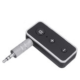 BT510 Car bluetooth 5.0 Audio Receiver EDR 3.5mm AUX 300mAh Li Battery Built-in Microphone Hands-free Call