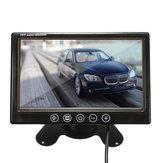 7 بوصة TFT LCD لون CCTV سيارة الأمن DVR الة تصوير عكس النسخ الاحتياطي مراقب