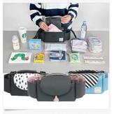 Carrinhos de Bebê Universal Organizador Pram Fralda Brinquedo De Entrega De Armazenamento Handy Buggy Gancho Bolsa