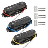 3Pcs Ceramic Magnets Magnetic Single Coil Harmonious Sound Pickup For 6 Strings Electric Guitar Neck/Middle/Bridge Pickup