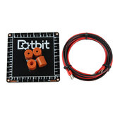 Dotbit 100 * 100 * 2mm Mini Hot Bed Plate + 16mm 4PCS Silica Gel Column Kit for 3D printer