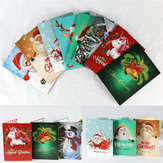 5D DIY Diamond Painting Christmas Greeting Card Cross Stitch Embroidery Mosaic Holiday Decor