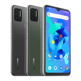 UMIDIGI A7 Global Bands 6,49 polegadas Waterdrop Display Android 10 4150mAh 16MP Quad câmera traseira 2 + 1 Slots de carrinho 4GB 64GB Helio P20 4G Smartphone