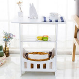 Modern Simple Side Table Easy to assemble Installation Stable Powerful Storage Capacity Coffee Table