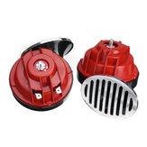 1 Pair DC 12V Super Loud 300dB Universal Air Snail Horn Waterproof For Motorcycle Car Truck