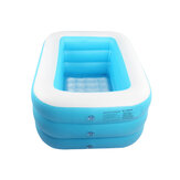 Baby Bathtub Inflatable Bathing Tub Collapsible Air Swimming Pool Portable Thick Shower Basin With Inflator Pump