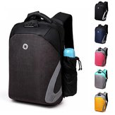 Men Anti Theft Laptop Backpack Waterproof Storage Bag Rucksack With USB Charging Port For Outdoor