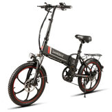 Samebike XW-20LY 10AH 48V 350W 20 inch Smart Folding Electric Bicycle 35km/h Max. Speed 70km Mileage Max Load 120kg E-Bike