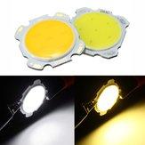 3W DIY LED COB Chip Haute Puissance Perle Ampoule Lampe Blanc / Blanc Chaud DC9-12V