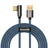 Baseus 66W USB to USB-C Cable PD3.0 Power Delivery QC4.0 Fast Charging Data Transmission Cord Line 2m long For Samsung Galaxy Note 20 For iPad Pro 2020 MacBook Air 2020 Mi 10 Huawei P40