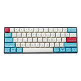 MechZone 75/133 toetsen Hawaii Theme Keycap Set DSA Profile PBT Sublimation Keycaps voor 61/64/68/104/108 toetsen Mechanische toetsenborden