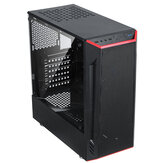 Desktop Computer Case ATX/MATX/ITX Usb3.0 Acrylic Side Permeable Panel Mainframe Case for Gaming