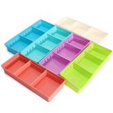 Регулируемое хранилище Макияж Коробка выдвижной ящик для домашнего офиса Канцелярские принадлежности для карандашей Органайзер