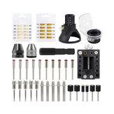 52Pcs Multi-functional Electric Drill Polishing Rotary Power Tool Product Combination Set