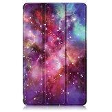 Soporte plegable de cuero PU pintado triple Galaxy Caso para tableta 8 Inch Huawei MatePad T8