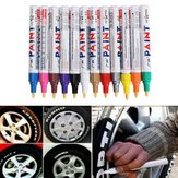 12 stks kleur band permanente verf pen band metalen outdoor markering inkt marker trendy