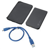 USB 3.0 SATA 2.5inch External HDD SSD Hard Drive Enclosure with Storage Bag