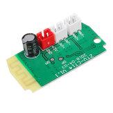 3Wx2 Mini Bluetooth Receptor Módulo Con Altavoces 4Ohm Potencia Amplificador Tarjeta de Audio Módulo de Decodificación de MP3