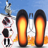5V 2A Electric Heated Feet Shoe Insole USB Foot Heater Warmer Breathable Washable and Cropable Deodorant With Adapter