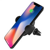 Bakeey Wireless Fast Car Charger Two Mount Holder Stand For iPhone 8/P iPhone X Samsung S8