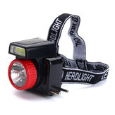 7LEDs COB Super Bright Solar LED Headlamp Energy Saving Outdoor Head Torch Light For Sports Camping Fishing Searching