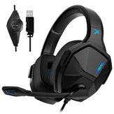 XIBERIA V13 Gaming Headset USB 7.1 Channel Ergonomic Shaft Professional Headphone with Mic for Computer Laptop Gamer
