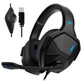 XIBERIA V13 Gaming Headset USB 7.1 Kanal Ergonomik Mil Profesyonel Kulaklık Bilgisayar Dizüstü Gamer için Mic ile