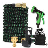Expandable Flexible Garden Hose Retractable Kink Free Collapsible Lightweighta Water Hose with 3/4