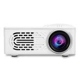 HD 1080P LCD Projektor LED 400 Lumen Projektor Mehrere Anschlüsse Eingebauter Lautsprecher Tragbarer Smart Home Theater Projektor mit Fernbedienung