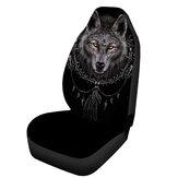 快適な普遍的なオオカミの形ポリエステルカーシートカバーSUVのクッションの保護装置