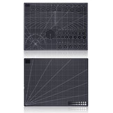 A2 Double Side Cutting Mat PVC Craft Scrapbooking Board 45cm*60cm Patchwork Fabric Paper Craft Cutting Tools for Engineer