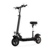 [US Direct] TOODI TD-E202-B 10inch 48V 15Ah 500W Складной электрический скутер с седлом 35 км / ч Максимальная скорость Электроскутер с пробегом 40-50 км