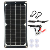 40W Flexible Monocrystalline Solar Panel 18V Battery Charger Kit For Car Van