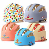Yeni Bebek Toddler Ayarlanabilir Emniyet Başlığı Kasku Koruyucu Şapka Dişli Kapağı