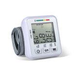 Muñeca LCD Tipo Probador electrónico de presión arterial Monitor Corazón Medición de pulso de frecuencia cardíaca herramienta