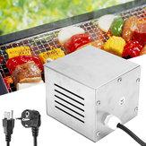 25W110/220VНержавеющаясталь Электрическая роторная пища Пирог для пиццы BBQ Мотор 40 / 80kgs Емкость