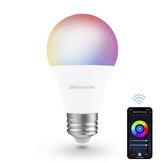 Difeisi DFS-AC-0001 E26 9W WIFI A19 RGB + CCT ampoule intelligente 810LM AC100-130V fonctionne avec Alexa et Google Assistant