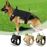 Cane da caccia Militare mimetico Gilet tattico Pet Dog Clothes Outdoor Training Molle Dog Harness