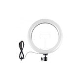 ORSDA OR-10RGB 10inch RGB LED Ring Light Dimmable Selfie Ring Lamp Three Kinds of Color Temperature for Computer Live With Tripod